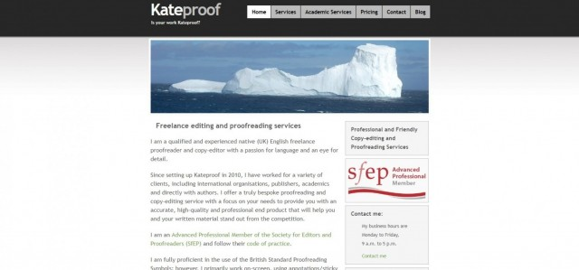 Kateproof | Copy-editing and proofreading services