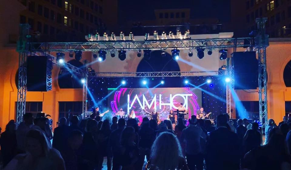 Jam Hot | International Show Band for Wedding & Corporate Hire