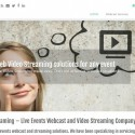 Web Video Streaming - Webcast Company