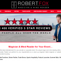 Magician Robert Fox