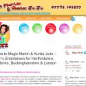 Magic Martin and Auntie JoJo