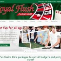 Royal Flush Fun Casino Hire