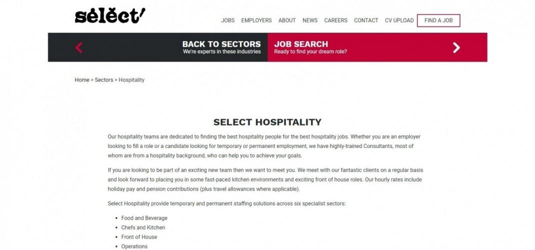 Select Hospitality