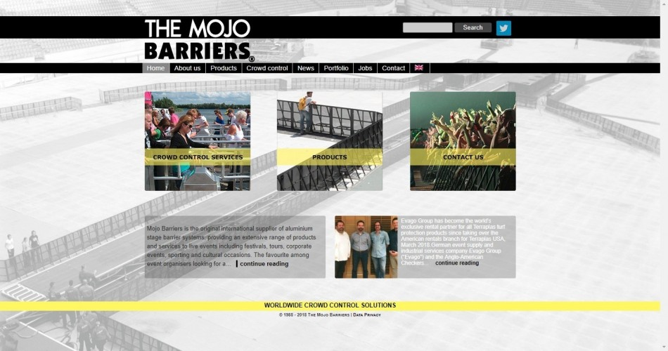 Mojo Barriers UK