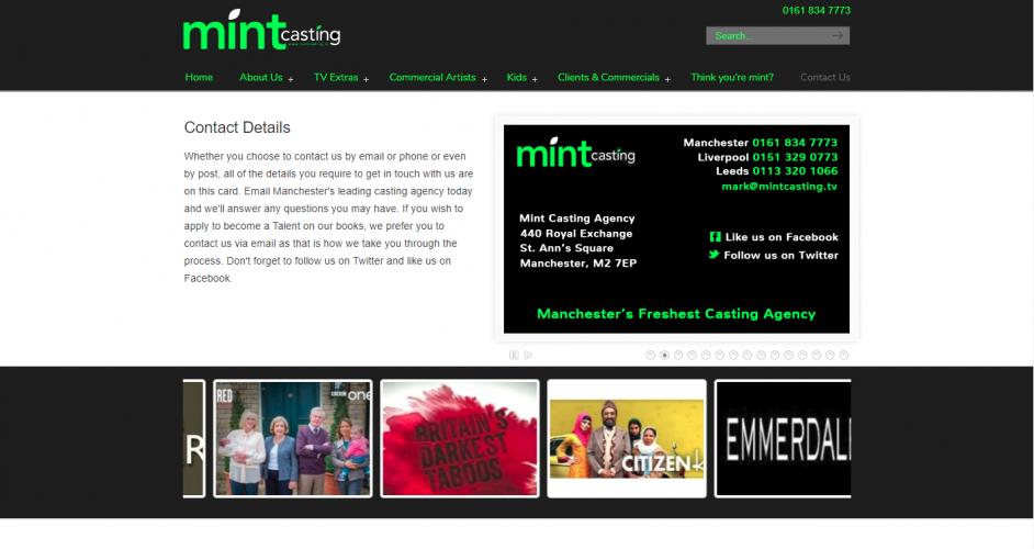 Mint Casting Agency Ltd