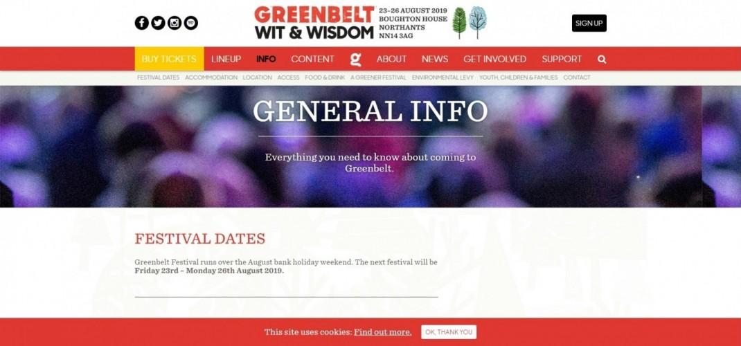 Greenbelt Festivals