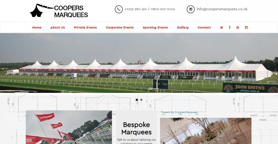 Coopers Marquees Ltd