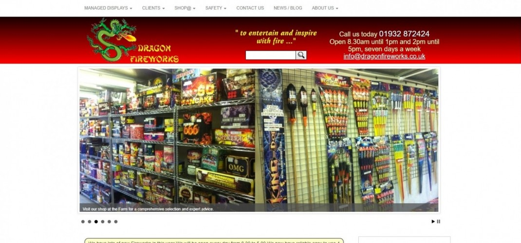 Dragon Fireworks Ltd