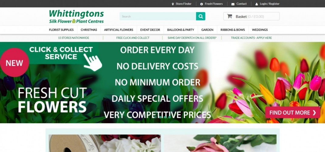 Whittingtons Silk Flower & Plant Centres