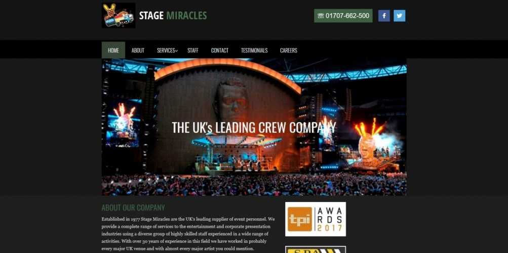 Stage Miracles Ltd