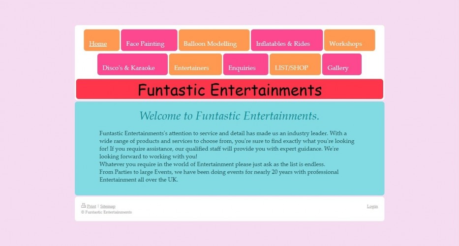Funtastic Entertainments
