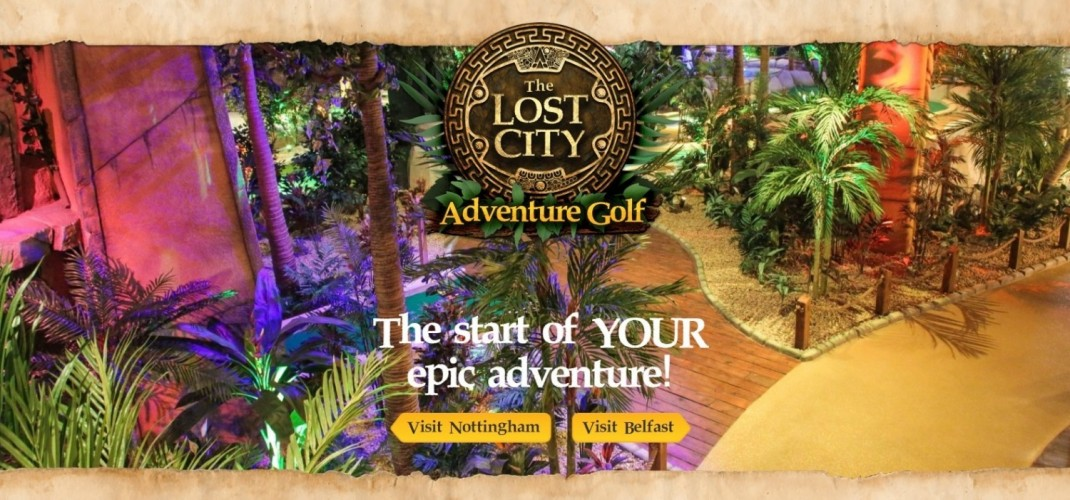 The Lost City Adventure Golf