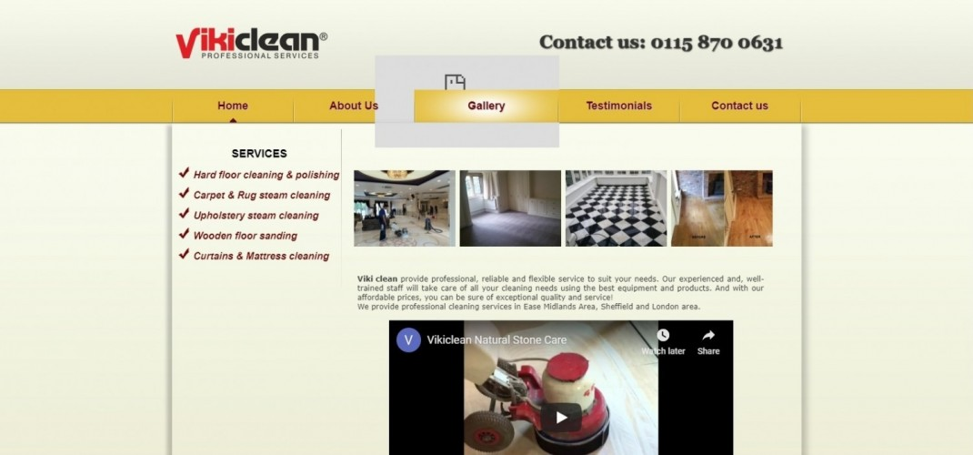 Viki Clean- professional cleaning services Nottingham