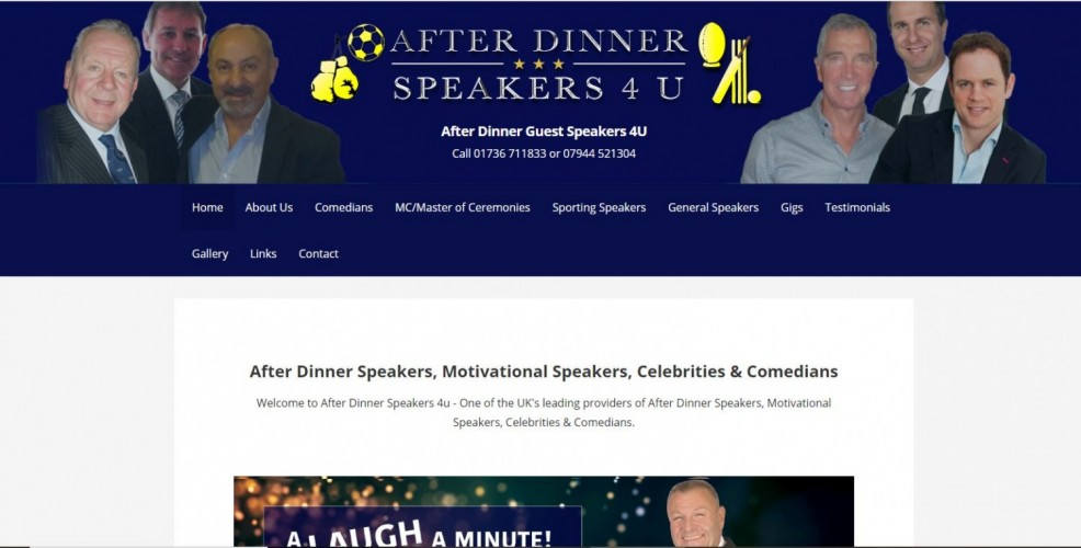 After Dinner Speakers 4 U