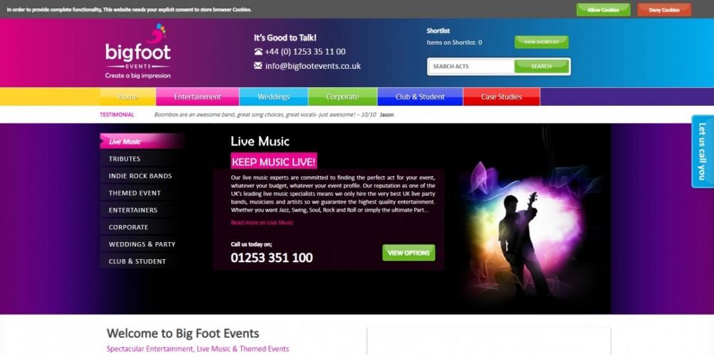 Big Foot Events Ltd
