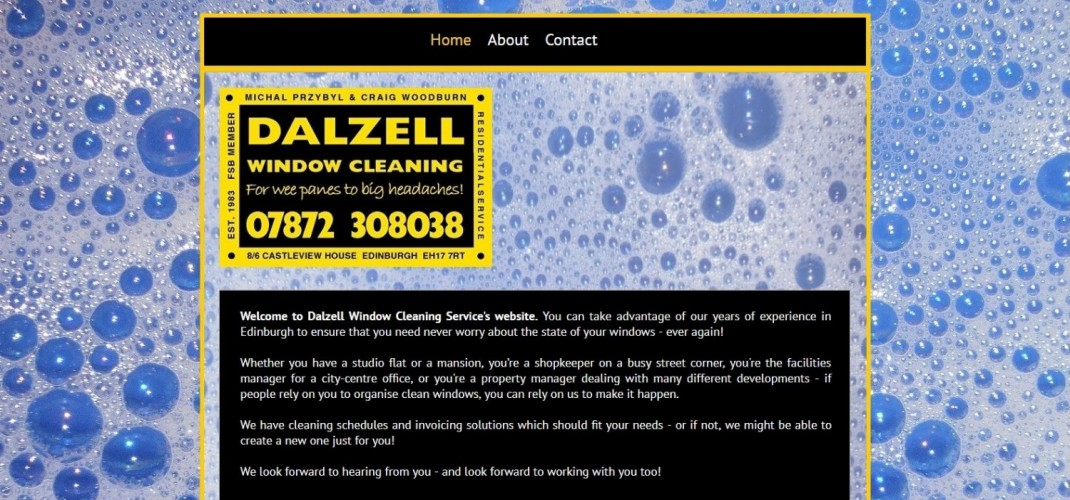 Dalzell Window Cleaning Service