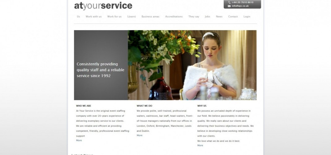 At Your Service Event Staffing Ltd