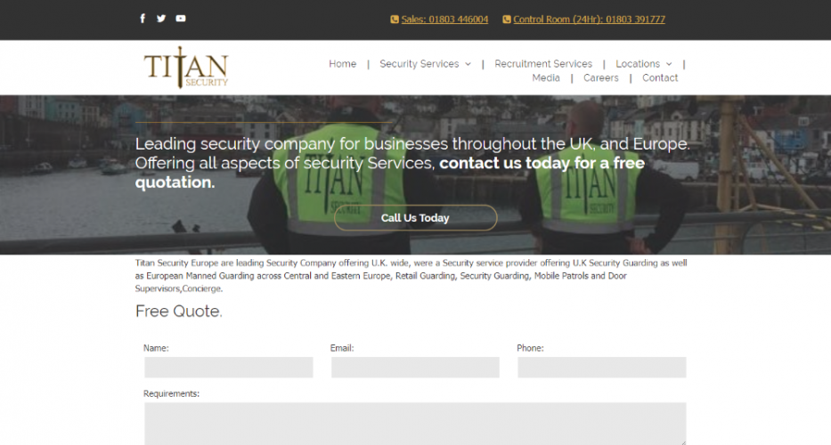 Titan Security Europe