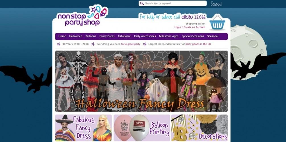 Non-Stop Party Shop Ltd
