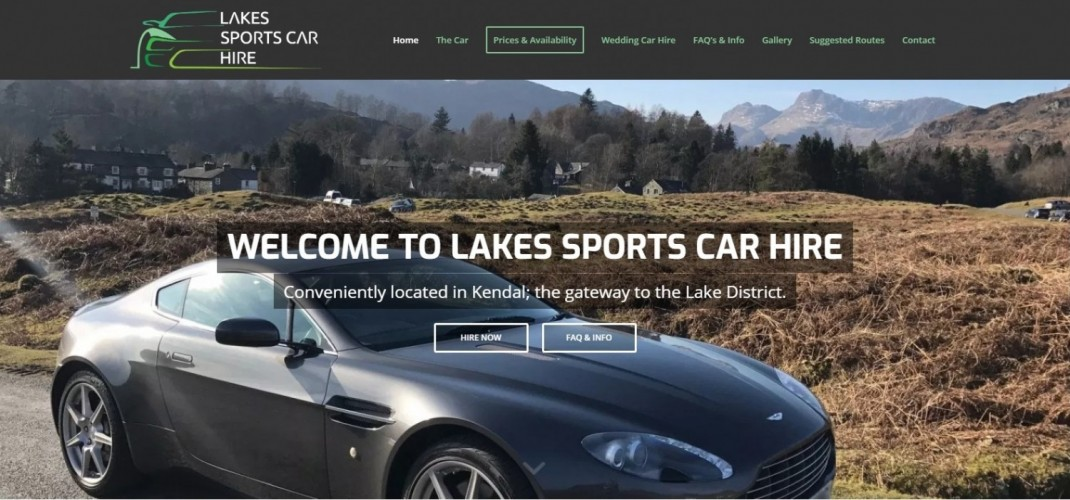 Lakes Sports Car Hire