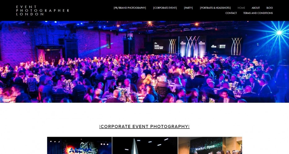 Freelance Events Photographer - London