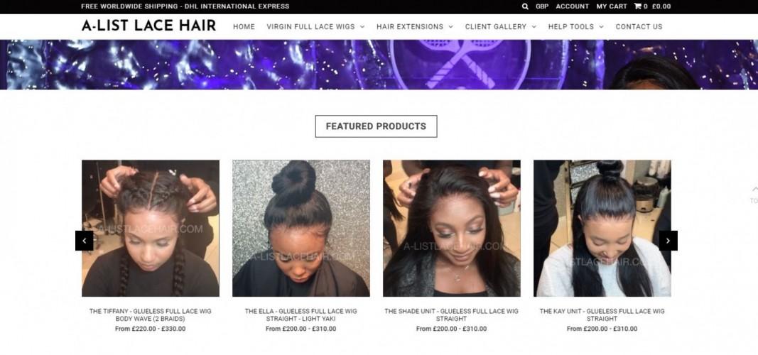 A-List Lace Hair