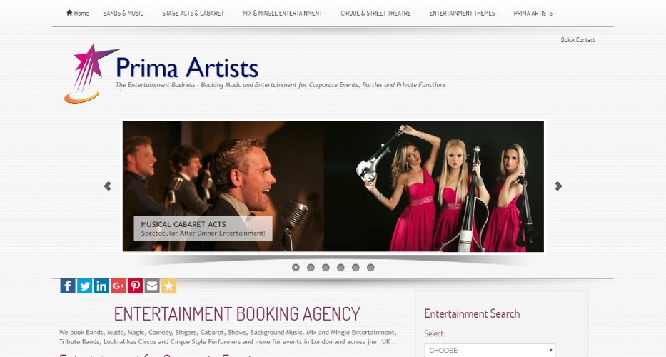 Prima Artists