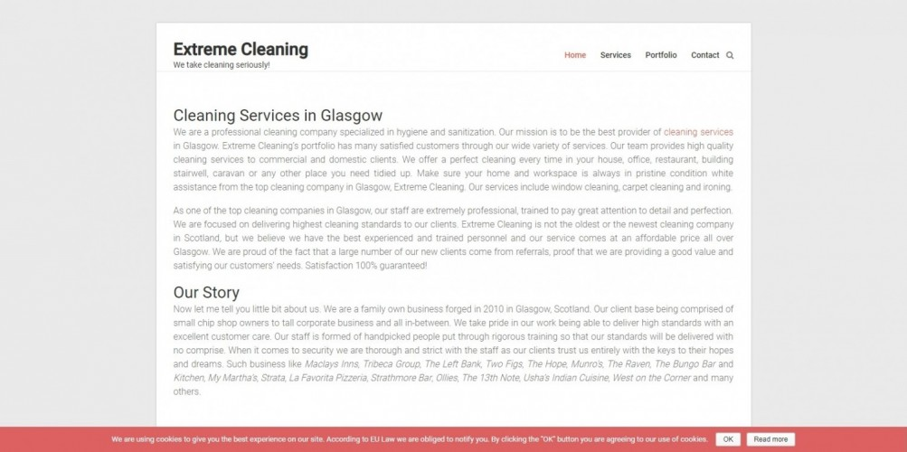 Extreme Cleaning Glasgow