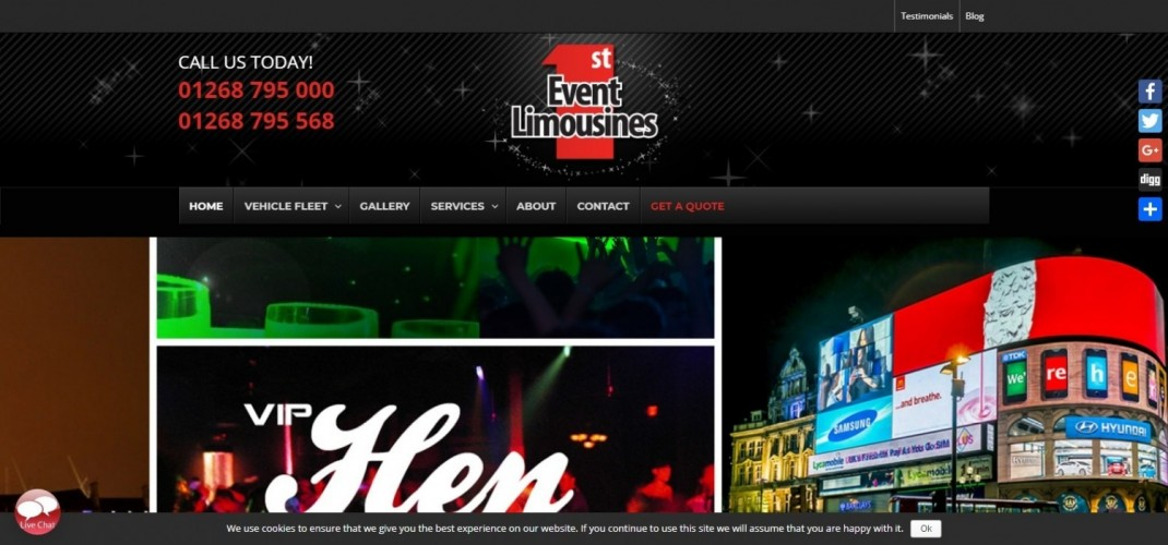 Essex Limo & Party Bus Hire
