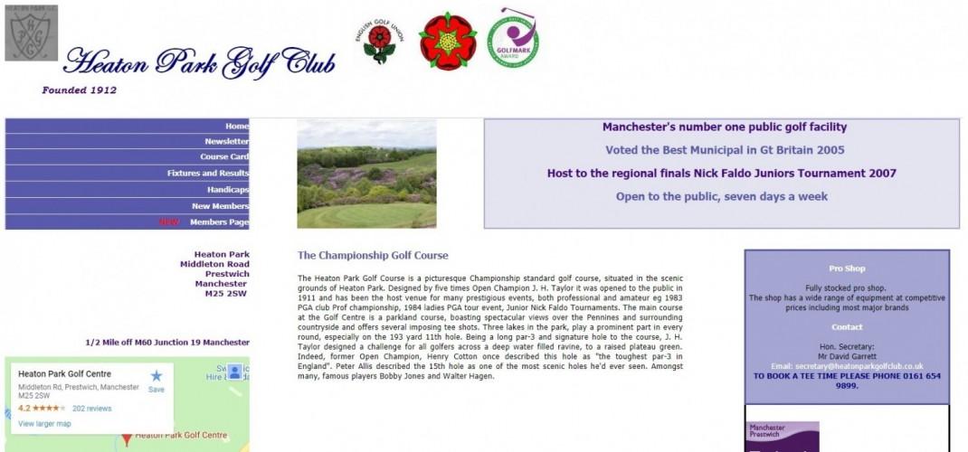 Heaton Park Golf Centre