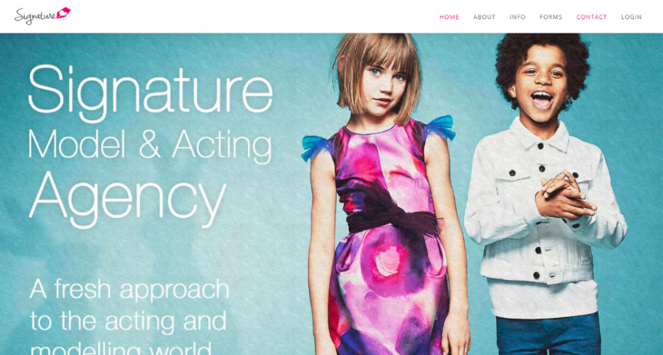Signature Model & Acting Agency
