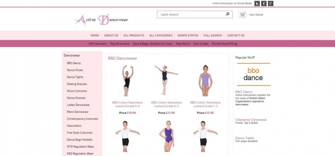 Active Dancewear