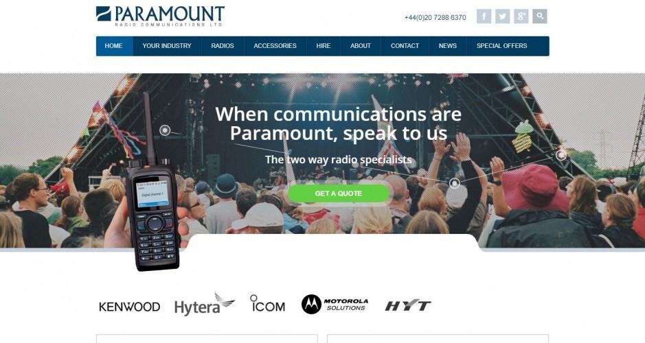 Paramount Radio Communications