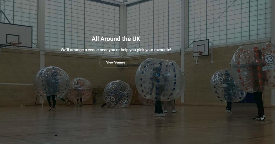 Bubble Boys Bubble Football UK