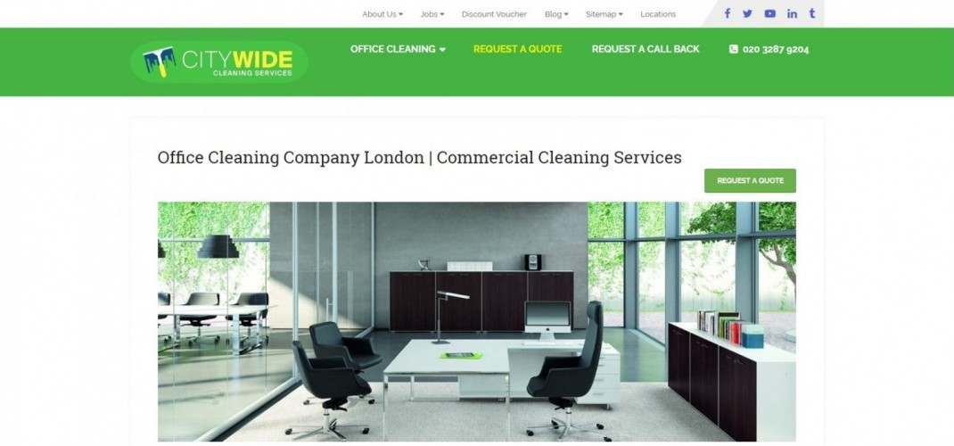 Citywide Office Cleaning Company London