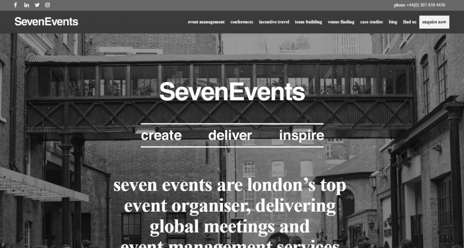 Seven Events Ltd