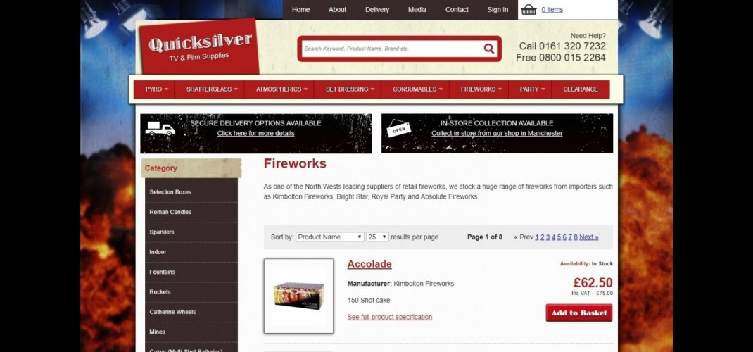 Quicksilver SFX & Fireworks Shop