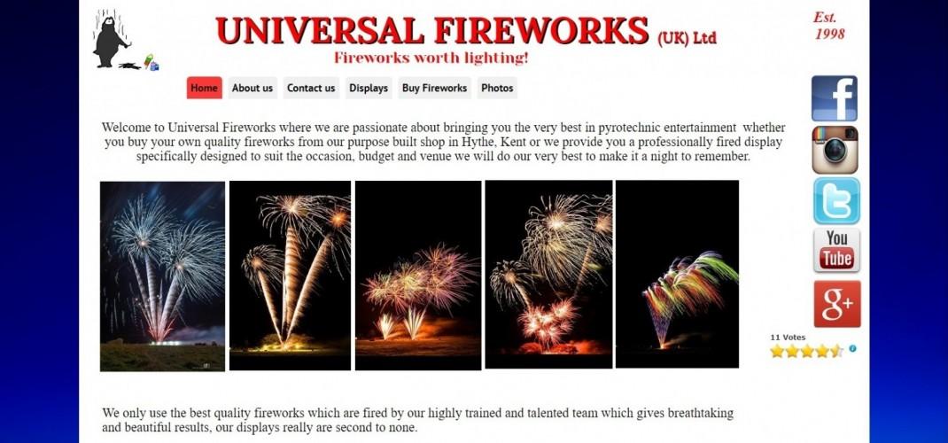 Universal Fireworks(UK) ltd
