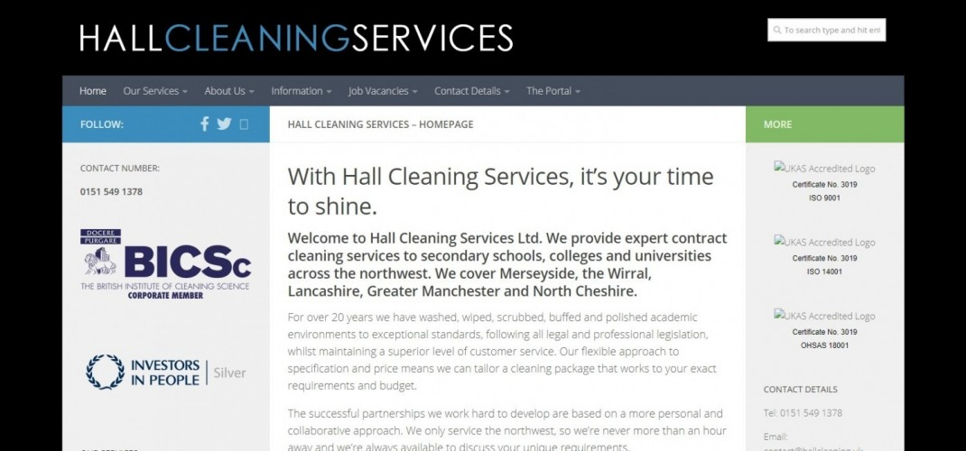 Hall Cleaning Services