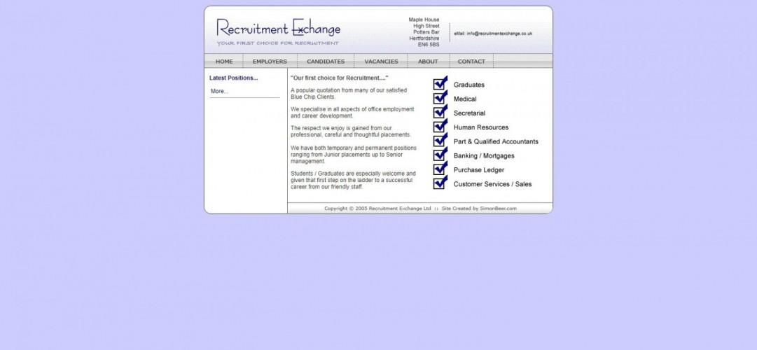 Recruitment Exchange (UK) Ltd
