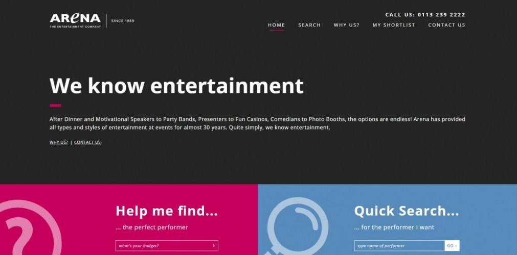 Arena Entertainment (UK) Ltd