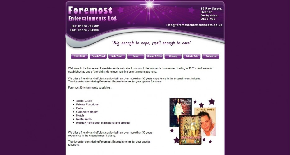 Foremost Entertainments Ltd.