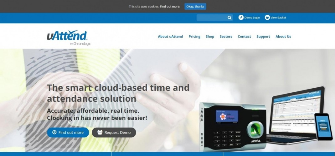 uAttend UK - Employee Time and Attendance Software System