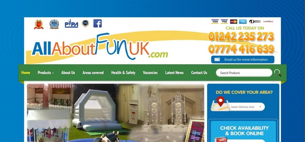 All About Fun UK. com ~ The Gloucestershire Party & Event Hire Company