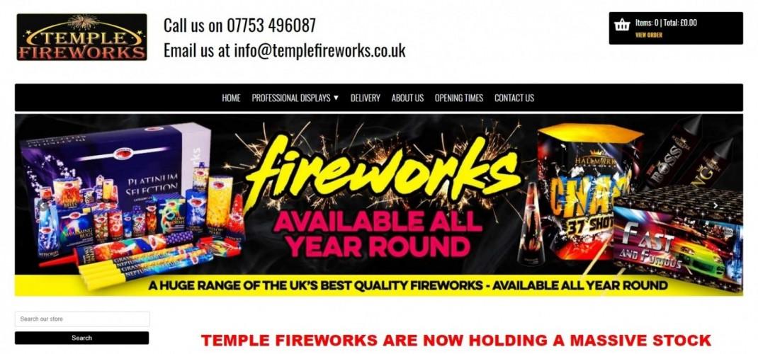 Temple Fireworks Ltd