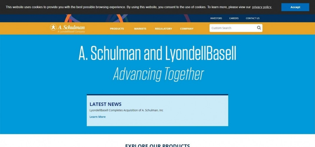 A. Schulman Polymers