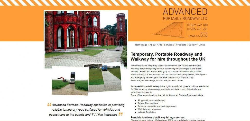 Advanced Portable Roadway Ltd