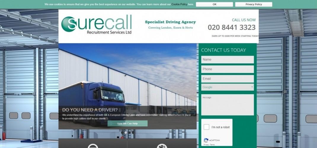 Sure Call Recruitment Services Ltd