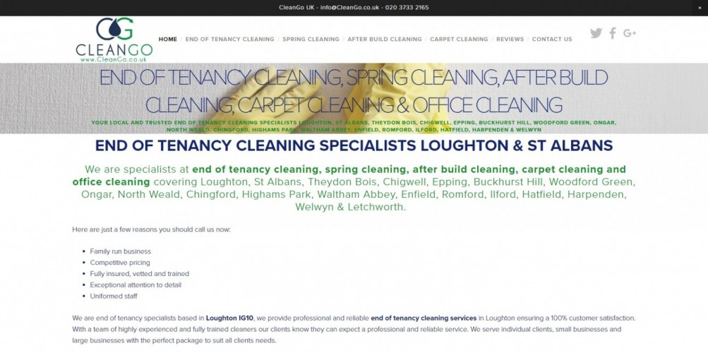 End Of Tenancy Cleaning CleanGo UK