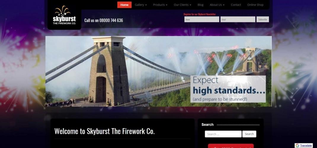 Skyburst the Firework Company
